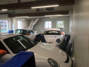 Porschegarasje