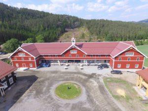 Uvdal Gård Dronebilder